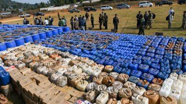 म्यांमार पुलिस ने सबसे बड़े ड्रग रैकेट का किया पर्दाफाश, मादक पदार्थों की खेप जानकार हो जाएंगे सन्न, 33 लोग अरेस्ट