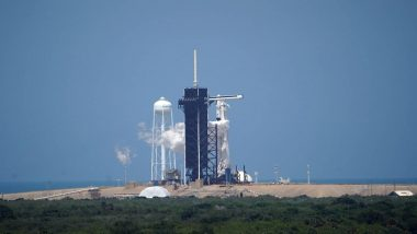 नासा के दो अंतरिक्ष यात्रियों को लेकर गया SpaceX Dragon सफलता पूर्वक अंतरराष्ट्रीय स्पेस स्टेशन पहुंचा