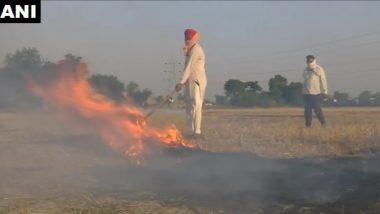 उत्तर प्रदेश में पराली जलाने पर 2 हजार किसानों पर मामला दर्ज, वायु प्रदूषण को रोकने के लिए दिए गए सख्त निर्देश