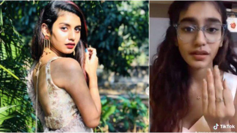 प्रिया प्रकाश वारियर ने डिएक्टिवेट किया अपना इंस्टाग्राम अकाउंट, लेकिन टिक-टॉक पर हैं एक्टिव (Video)