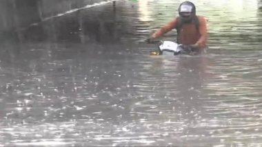 दिल्ली में प्री- मानसून बारिश से तुगलकाबाद समेत कई इलाकों में भरा पानी, देखें तस्वीर