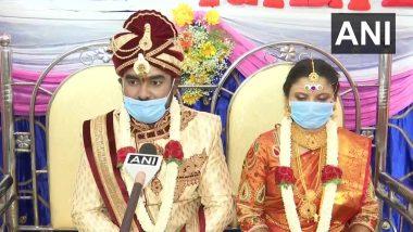 कर्नाटक: संपूर्ण लॉकडाउन के बीच बेंगलुरु में कपल ने लिए सात फेरे, 25 मेहमानों की मौजूदगी में हुई शादी