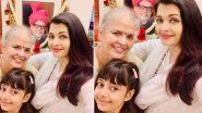 ऐश्वर्या राय बच्चन ने मां के जन्मदिन पर पोस्ट की फोटो, लिखा ये प्यारा संदेश