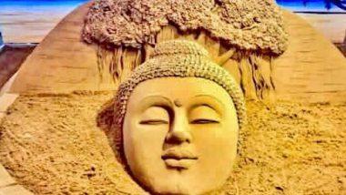 Buddha Purnima 2020: बुद्ध जयंती पर सुदर्शन पटनायक ने शेयर की भगवान गौतम बुद्ध की सैंड आर्ट की थ्रोबैक तस्वीर, देखें