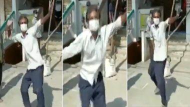 तेलंगाना: शराब की दुकान खुली तो खुशी से झूम उठा शख्स, कतार में खड़े लोगों के बीच जमकर करने लगा डांस, देखें वीडियो