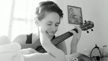 एक्ट्रेस कल्कि कोचलिन ने बेटी साफो के लिए गाया गाना, इंटरनेट पर Cute Video हुआ Viral