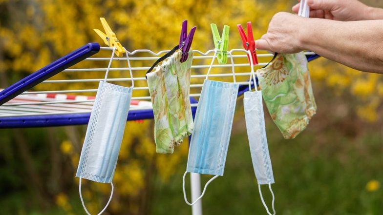 इस्तेमाल के बाद Mask को कैसे करें Disinfect? जानें मास्क को साफ और कीटाणुओं से मुक्त करने का सही तरीका