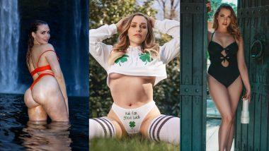 Mia Malkova Hot Video: XXX स्टार मिया मालकोवा ने नेशनल हैमबर्गर डे पर अपने Butt का वीडियो किया शेयर