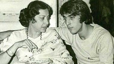 संजय दत्त ने मां नर्गिस दत्त की पुण्यतिथि पर शेयर की ये Throwback फोटो, लिखा- आपकी हर दिन याद आती है मां