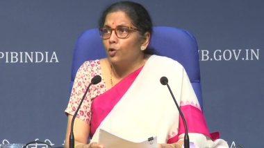 वित्त मंत्री निर्मला सीतारमण ने 20,97,053 करोड़ रुपये के आर्थिक पैकेज का अलग-अलग दिया विवरण