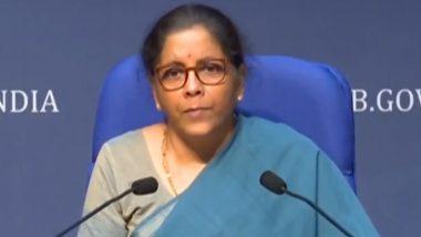 GST Council Meeting: वित्त मंत्री निर्मला सीतारमण का ऐलान, देर से जीएसटी रिटर्न दाखिल करने पर नहीं देनी पड़ेगी कोई फीस