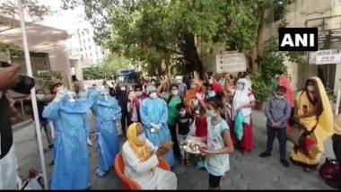 मध्य प्रदेश: कोरोना वायरस को मात देने वाले 90 वर्षीय बुजुर्ग को मिली अस्पताल से छुट्टी, एक छोटी लड़की ने उतारी उनकी आरती
