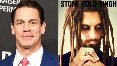 WWE रेसलर जॉन सीना ने रणवीर सिंह को बनाया 'Stone Cold Singh', एक्टर ने दिया ऐसा रिएक्शन