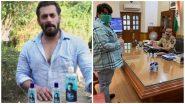सलमान खान ने पुलिस कर्मियों के लिए फ्रेश सैनिटाइजर बांटे, 1 लाख की सैनिटाइजर बोतलों का किया दान