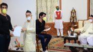 महाराष्ट्र के राज्यपाल भगत सिंह कोश्यारी से मुलाकात के बाद ट्विटर पर गूंजे 'अगली बार सोनू सूद सरकार' के नारे