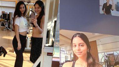 शाहरुख खान की बेटी सुहाना खान ले रही हैं ऑनलाइन बेली डांस क्लासेस, टीचर ने शेयर की ये लेटेस्ट फोटो