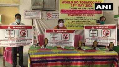 World No Tobacco Day 2020: विश्व तंबाकू निषेध दिवस पर त्रिपुरा में जागरूकता अभियान, टोबैको के सेवन से होने वाले नुकसान के बारे में लोगों की दी गई जानकारी