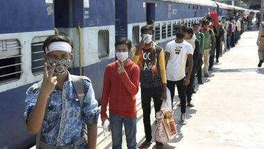 श्रमिक स्पेशल ट्रेनों में 9 मई से 27 मई के बीच हुई 80 लोगों की मौत: RPF की रिपोर्ट
