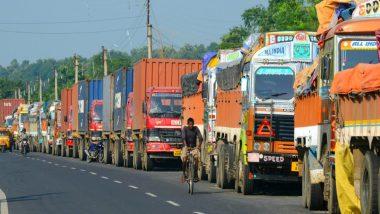 केंद्र सरकार द्वारा जारी राहत पैकेज नहीं मिलने पर ट्रांसपोर्टरों ने दी चक्का जाम की चेतावनी