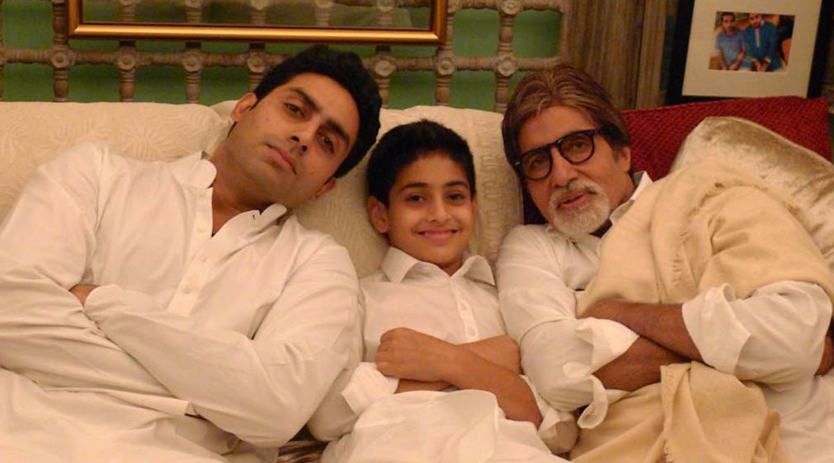 अमिताभ बच्चन के परिवार की 3 पीढ़ी समाईएक तस्वीर में, देखें बिग बी द्वारा शेयर की गई ये पुरानी फोटो