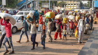 दुखद! बेंगलुरु से पैदल चलकर 12 दिन बाद यूपी स्थित अपने घर पहुंचा प्रवासी मजदूर, सांप के काटने से हुई मौत