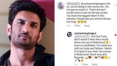 सुशांत सिंह राजपूत का पुराना ट्वीट हुआ वायरल, लिखा- वो मुझे बॉलीवुड से बाहर फेंक देंगे