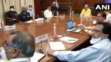 चक्रवाती तूफान 'निसर्ग' को लेकर गृह मंत्री अमित शाह ने की NDMA के अधिकारीयों के साथ अहम बैठक
