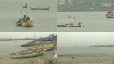 Cyclone Nisarga: मुंबई से कल टकरा सकता है चक्रवात 'निसर्ग', IMD के अलर्ट के बाद समुद्र तट से वापस लौटे मछुआरे