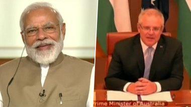 Modi-Scott Morrison Meeting: पीएम मोदी से गले मिलने के लिए बेताब है ऑस्ट्रेलियाई प्रधानमंत्री मॉरिसन, समोसे के बाद गुजराती खिचड़ी बनाने की कही बात