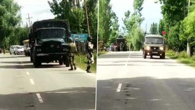 कश्मीर: बारामूला-हंदवाड़ा हाईवे पर मिला संदिग्ध विस्फोटक, मौके पर सुरक्षाबल और बॉम्ब स्क्वॉड मौजूद