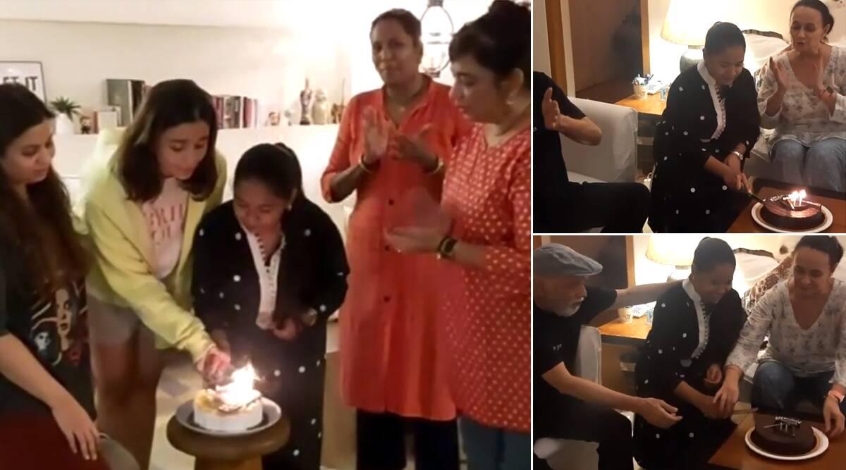 आलिया भट्ट संग परिवार ने घर में काम करने वाली राशिदा का बर्थडे किया सेलिब्रेट, केक काटकर मनाया जश्न (Video)