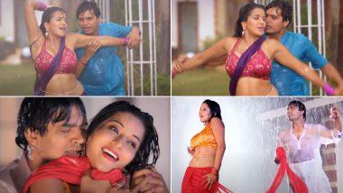 Bhojpuri Hot Song Video: बारिश में भीगती एक्ट्रेस मोनालिसा का बोल्ड भोजपुरी गाना हुआ वायरल, हॉटनेस उड़ा देगी आपके होश