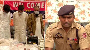 जम्मू-कश्मीर पुलिस की बड़ी कार्रवाई, हिंदवाड़ा में  21 किलो हेरोइन के साथ 3 आतंकियों को किया गिरफ्तार, लश्कर-ए-तैयबा से जुड़े हैं तार