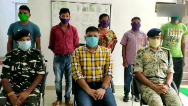 छत्तीसगढ़: सुकमा जिले में पांच नक्सलियों ने किया आत्मसमर्पण, दो पर था पांच-पांच लाख रुपए का इनाम