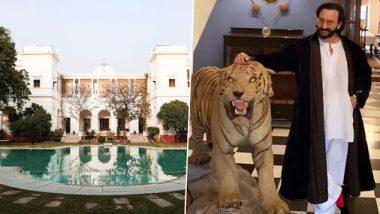 नवाब सैफ अली खान के पटौदी पैलेस को देख आंखें फटी की फटी रह जाएंगी, 800 करोड़ की कीमत वाले इस आलिशान महल में इतने है कमरें (Inside Photo)