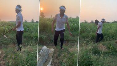 नवाजुद्दीन सिद्दीकी गांव पहुंचकर कर रहे हैं खेती, हाथ में फावड़ा लिए एक्टर ने शेयर किया ये Video