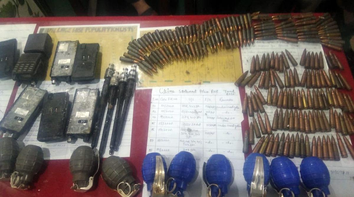 जम्मू-कश्मीर: सुरक्षाबलों को बड़ी कामयाबी, कुपवाड़ा से बरामद किया हथियारों का जखीरा