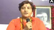 बीजेपी सांसद प्रज्ञा सिंह ठाकुर की मांग, भोपाल में इस्लामनगर-लालघाटी और हलाली डैम का नाम बदला जाए