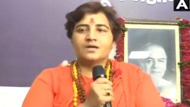 बीजेपी सांसद साध्वी प्रज्ञा सिंह ठाकुर का तंज कहा- जिस राहुल गांधी पर सब हंसते हैं, उसे सोनिया गांधी PM बनाने का सपना देख रही हैं
