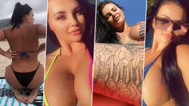 Porn Renee Gracie Hot Pics: पोर्नस्टार रेनी ग्रेसी की ये XXXट्रा बिकिनी फोटोज ने इंस्टाग्राम पर लगाई आग, देखें लेटेस्टPictures