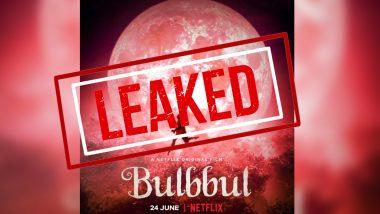 Bulbbul Full Movie in HD Leaked on TamilRockers & Telegram: अनुष्का शर्मा की फिल्म 'बुलबुल' हुई पायरेसी का शिकार, Leak होने के बाद हो रही Free Download