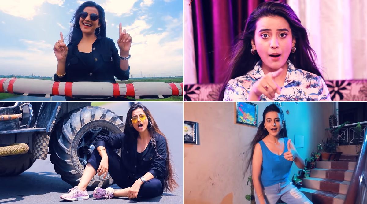 Bhojpuri New Song Video: भोजपुरी एक्ट्रेस अक्षरा सिंह के सॉन्ग 'इधर आने का नहीं' का म्यूजिक वीडियो हुआ रिलीज, एक्स को सुनाई खरी-खोटी
