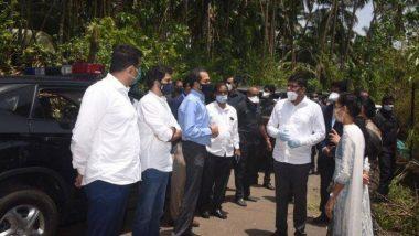 Cyclone Nirsaga: रायगढ़ जिले का जायजा लेने पहुंचे सीएम उद्धव ठाकरे, 100 करोड़ रुपये के राहत पैकेज की घोषणा की