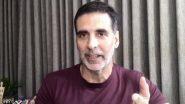 Cyclone Nisarga:हाई अलर्ट पर मुंबई! अक्षय कुमार ने Video शेयर करके बढ़ाया मुंबईकरों का हौंसला, कहा- हम डरने वालों में से नहीं हैं