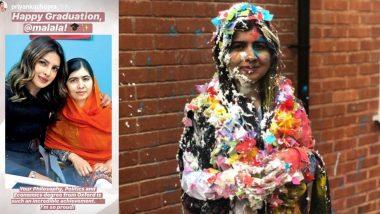 प्रियंका चोपड़ा ने नोबेल पुरस्कार विजेता मलाला यूसुफजई को दी बधाई, कहा- ऑक्सफोर्ड से आपकी डिग्री एक उपलब्धि