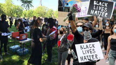 Justice For George Floyd: शिकागो में 20,000 लोगों ने 'Chicago March of Justice' में लिया हिस्सा