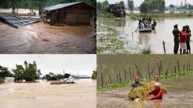 Assam Flood: कोरोना संकट के बीच असम के 23 जिलों में बाढ़ का कहर, करीब 9.3 लाख लोग हुए प्रभावित