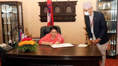 भारत की जमीन को नेपाल ने अपने नक्शे में किया शामिल, राष्ट्रपति बिध्या देवी भंडारी ने लगाई मुहर- तनाव बढ़ने के आसार