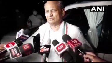 Rajasthan Political Crisis: सूबे में जारी सियासी घमासान के बीच अशोक गहलोत बोले- प्रधानमंत्री मोदी को फोन कर की है राज्यपाल के बर्ताव को लेकर शिकायत की