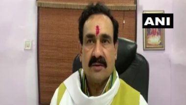 राफेल पर घमासान: मध्य प्रदेश के गृहमंत्री नरोत्तम मिश्रा का कांग्रेस पर तंज, कहा-आज तीन जगह होगा मातम-चीन, पाकिस्तान और जो सुबह से ट्वीट कर रहे हैं